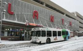 SnowyAllentownTransportationCenter